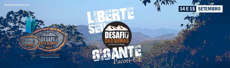 DESAFIO DAS SERRAS 2019 - PACOTI