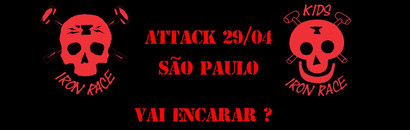 IRON RACE ATTACK - SÃO PAULO - Imagem de topo