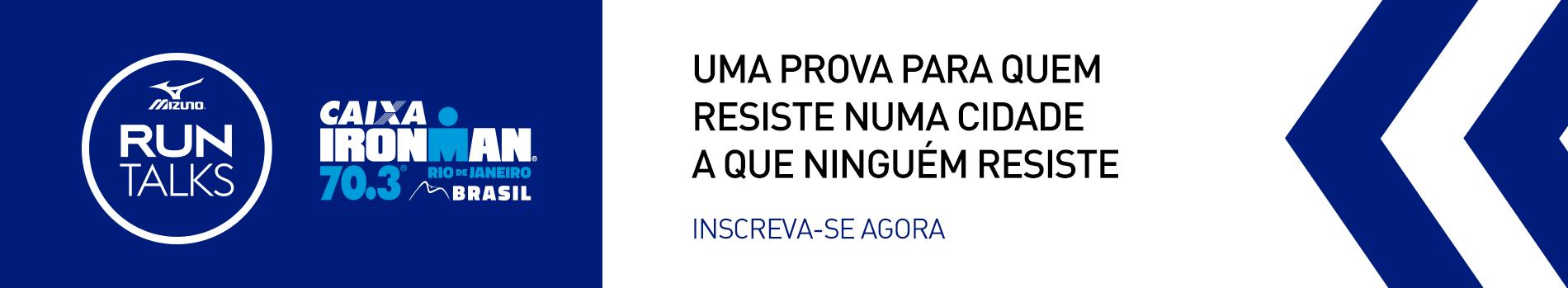Mizuno Run Talks - IRONMAN 70.3 RIO - Imagem de topo