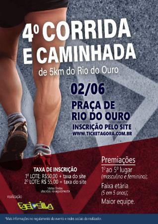 4ª Edição da Corrida e Caminhada do Rio do Ouro