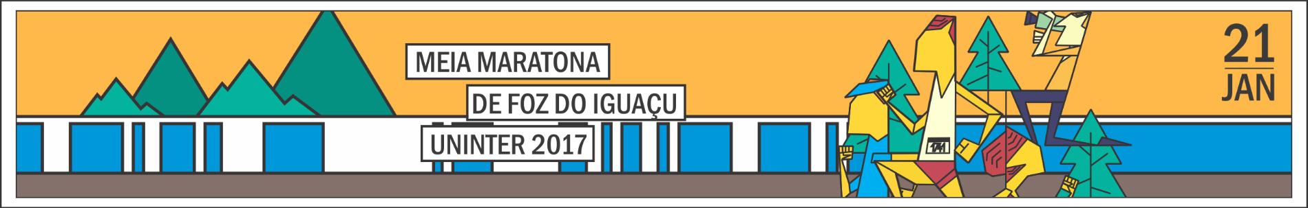 MEIA MARATONA DE FOZ DO IGUAÇU UNINTER - 2018 - Imagem de topo