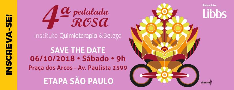 4ª PEDALADA ROSA DO IQeB - ETAPA SÃO PAULO