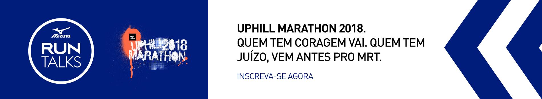 Mizuno Run Talks - Mizuno Uphill Marathon - Imagem de topo