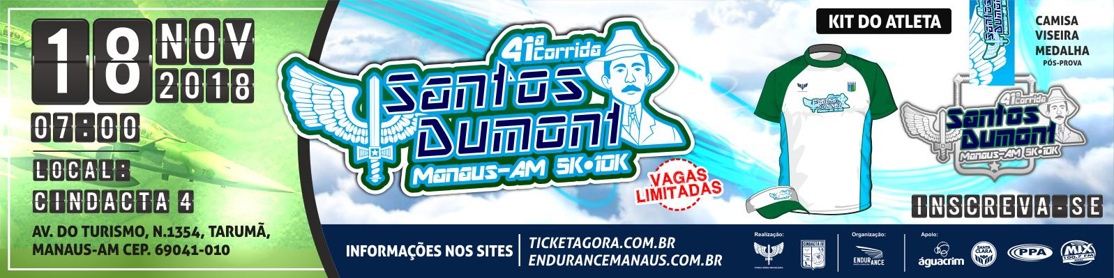 41ª CORRIDA SANTOS DUMONT - 2018  - Imagem de topo