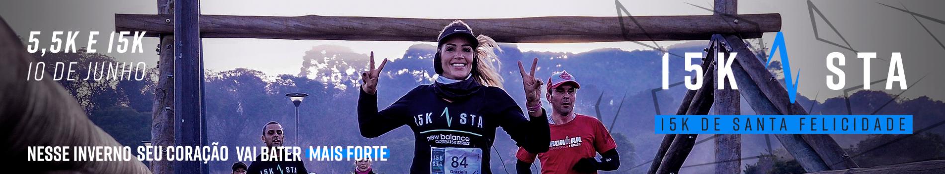 4ª CORRIDA 15K DE SANTA FELICIDADE - 2018 - Imagem de topo