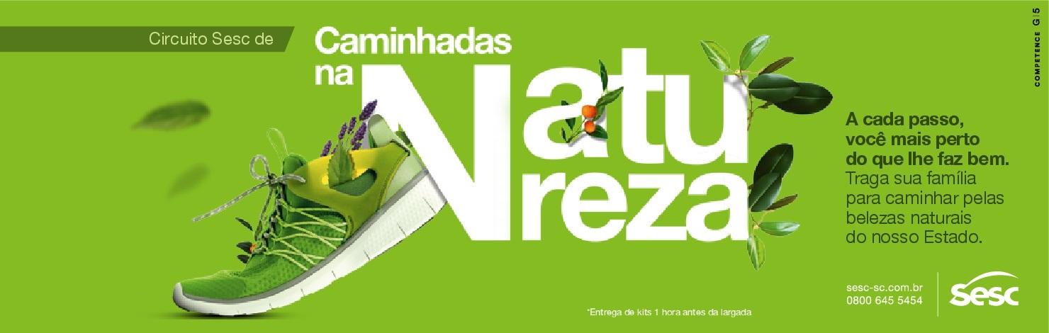 CIRCUITO SESC DE CAMINHADAS NA NATUREZA - ETAPA CAÇADOR