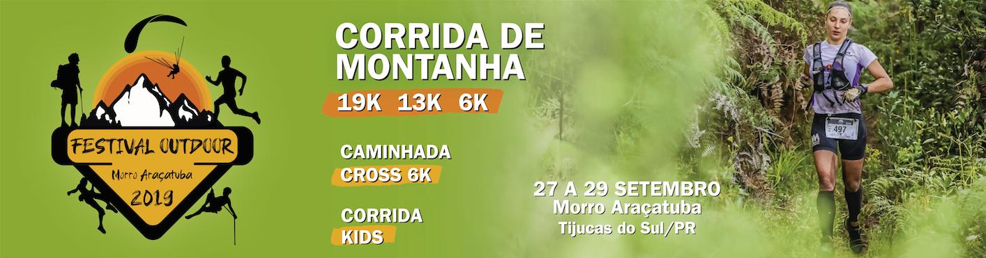 FESTIVAL OUTDOOR - ARAÇATUBA 2019 CORRIDA DE MONTANHA