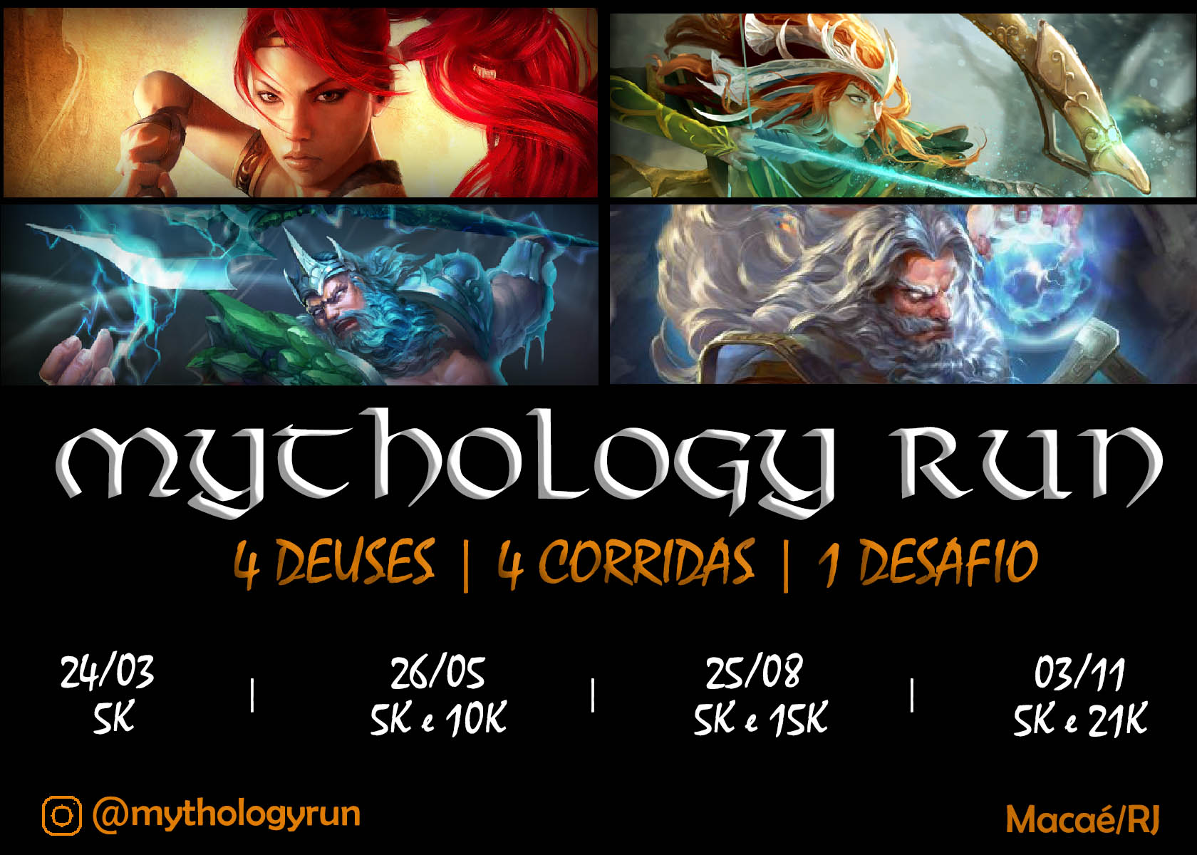 MYTHOLOGY RUN - 2ª ETAPA - ARTEMIS