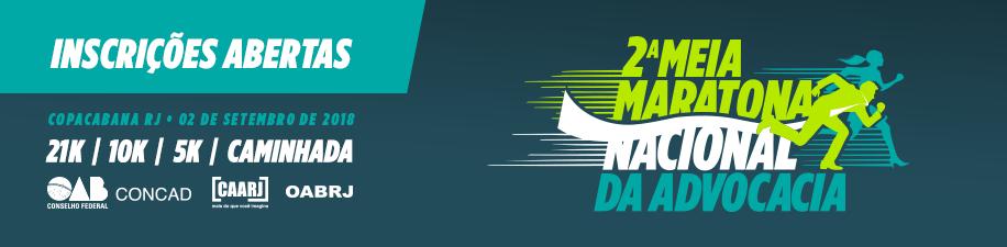 2ª Meia Maratona Nacional da AdvocAcia - Imagem de topo