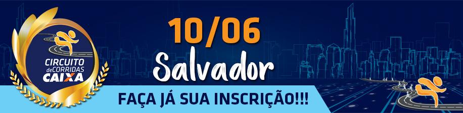 CIRCUITO DE CORRIDAS CAIXA - ETAPA SALVADOR - Imagem de topo
