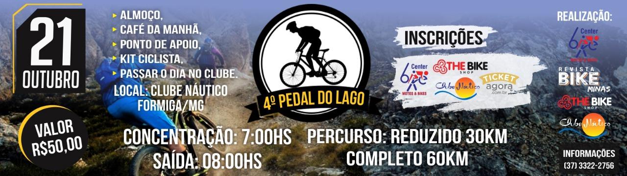 4º PEDAL DO LAGO  - Imagem de topo
