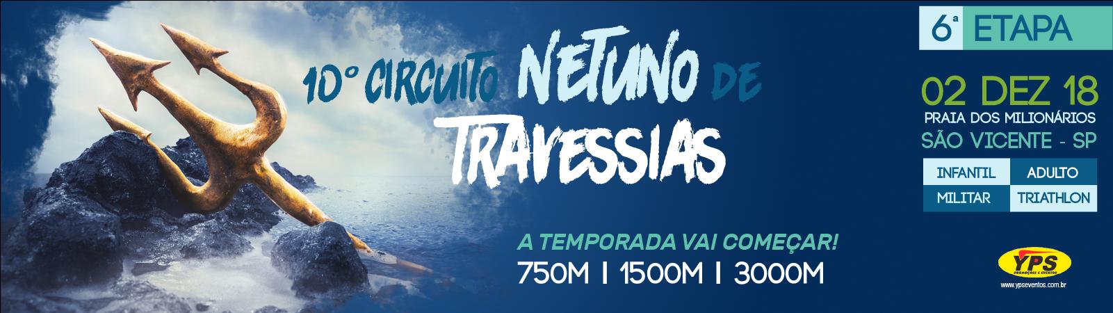 10º CIRCUITO NETUNO DE TRAVESSIAS - Imagem de topo