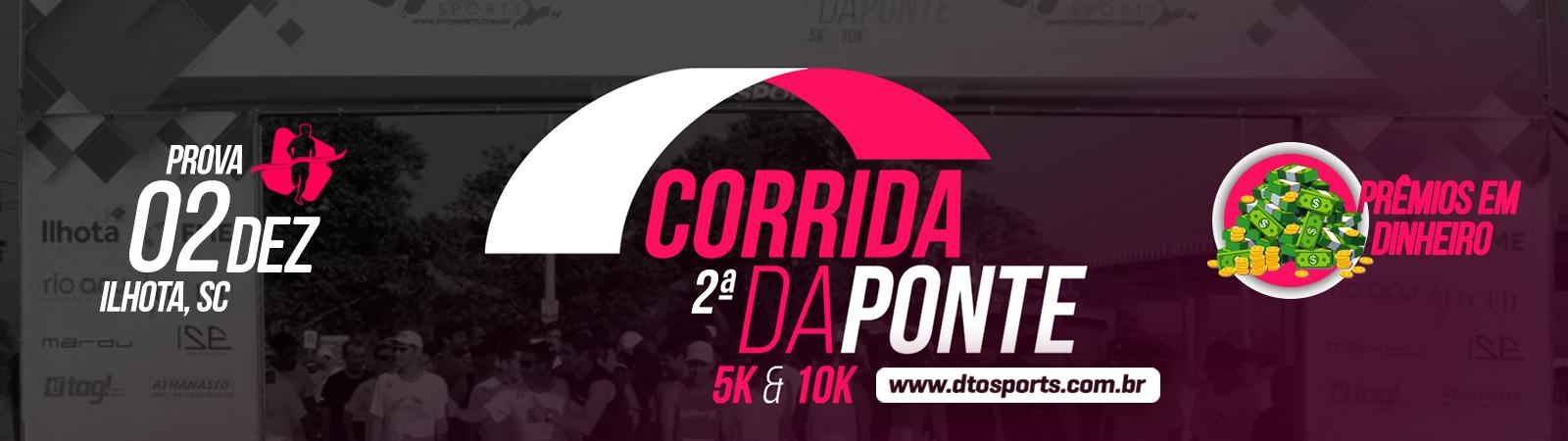CORRIDA DA PONTE DE ILHOTA - Imagem de topo