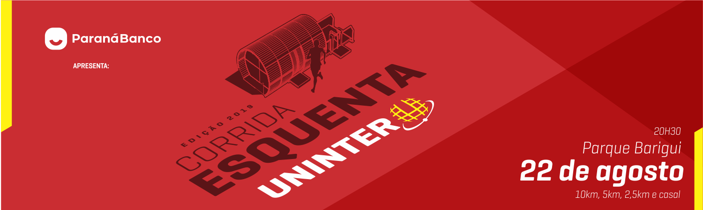 ESQUENTA DE CORRIDAS UNINTER - 4º ETAPA - PQ. BARIGUI - CURITIBA-PR