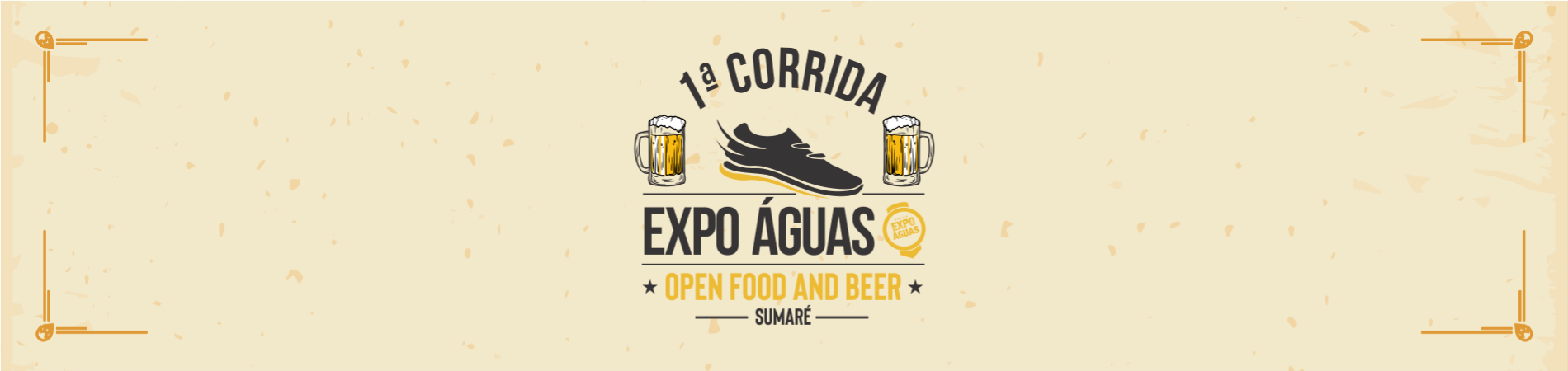 1ª CORRIDA EXPO ÁGUAS OPEN FOOD AND BEER