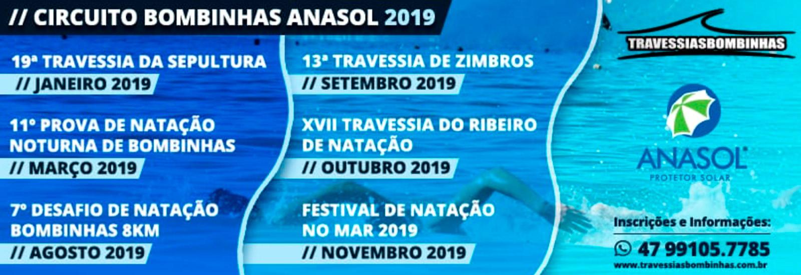 11ª PROVA DE NATAÇÃO NOTURNA - 2019 - Imagem de topo