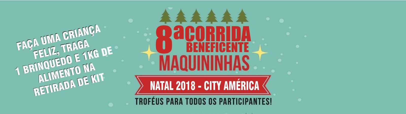 8ª CORRIDA E CAMINHADA BENEFICENTE CITY AMERICA - Imagem de topo