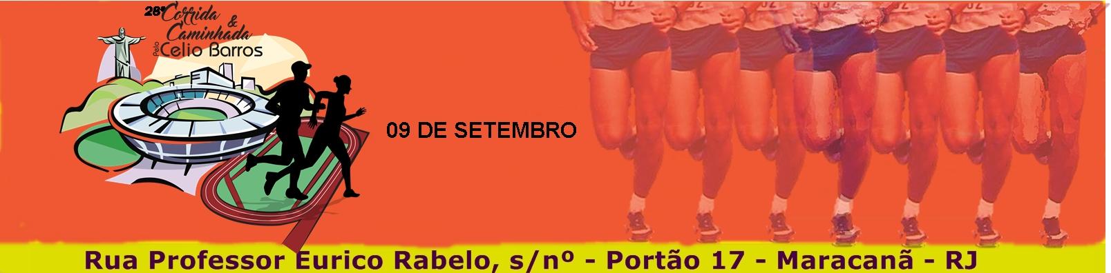 28ª CORRIDA E CAMINHADA DE CONFRATERNIZAÇÃO PELA RECONSTRUÇÃO DO ESTÁDIO DE ATLETISMO CÉLIO DE BARROS  - Imagem de topo