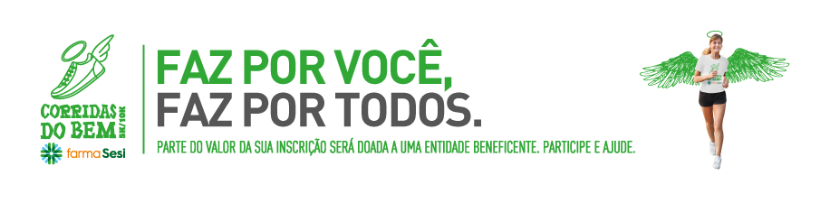 CORRIDA DO BEM FARMASESI 2018 - 4ª ETAPA - CHAPECÓ - Imagem de topo