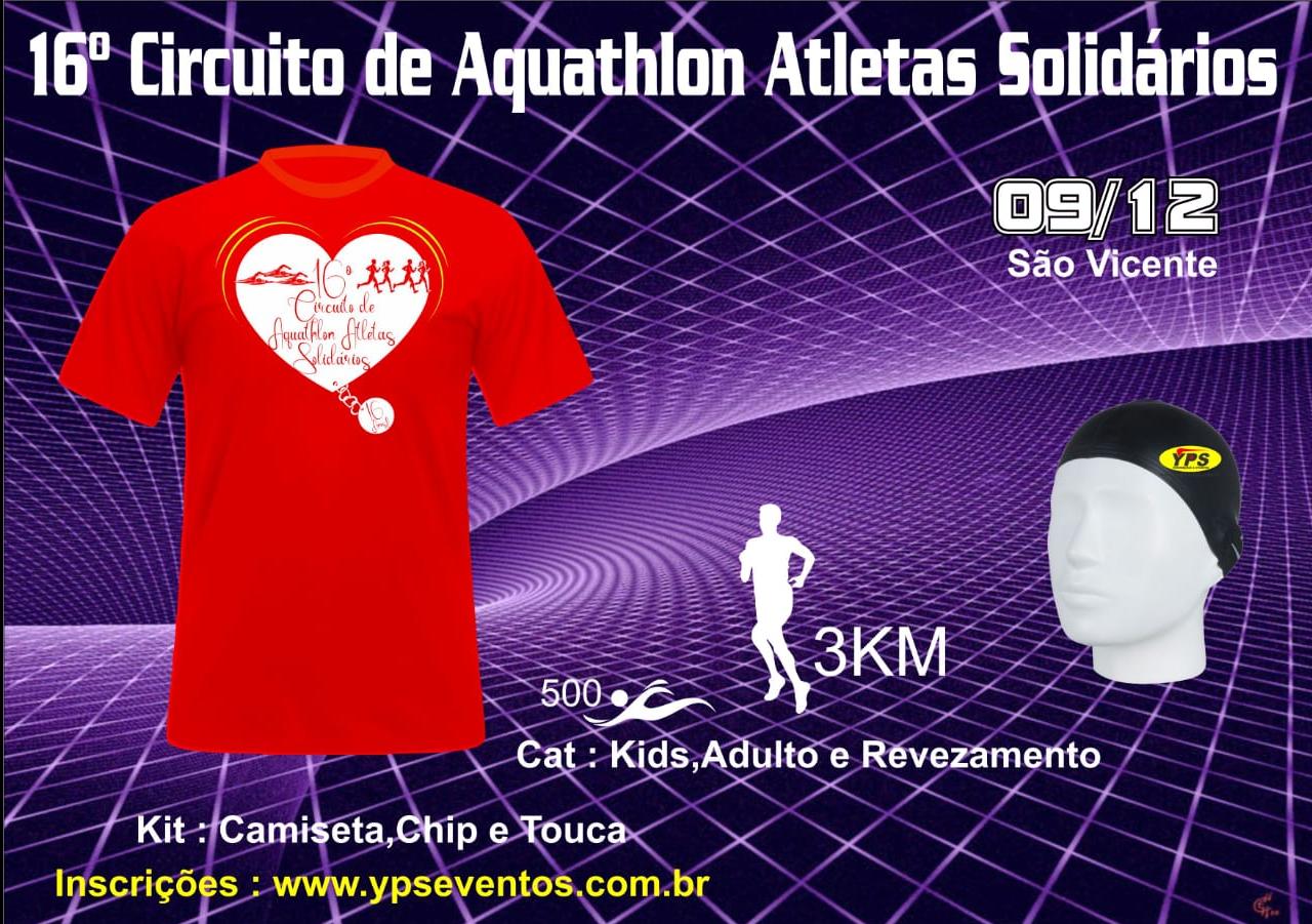 16º CIRCUITO DE AQUATHLON ATLETAS SOLIDÁRIOS
