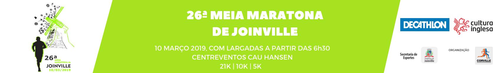 26ª MEIA MARATONA DE JOINVILLE - 2019