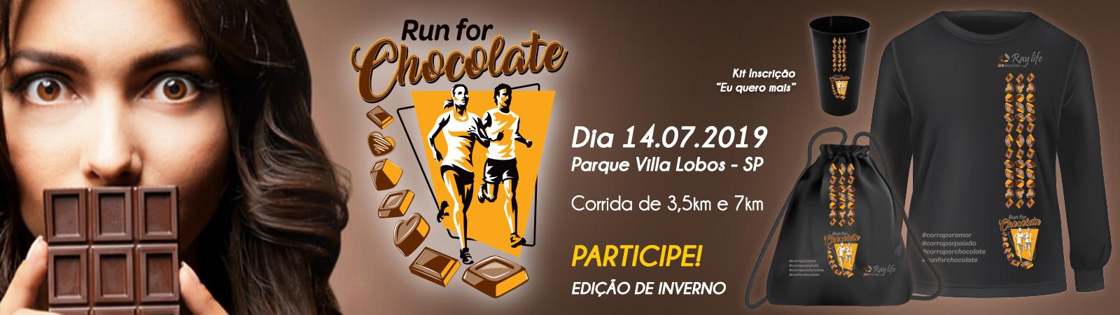 RUN FOR CHOCOLATE 2019 - EDIÇÃO INVERNO