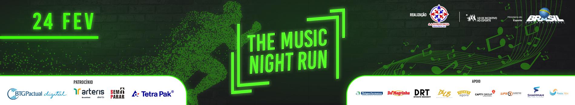 THE MUSIC NIGHT RUN - Imagem de topo
