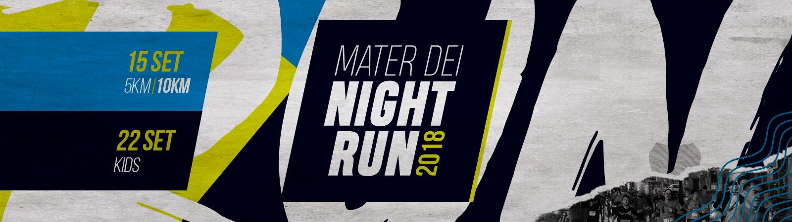 4ª MATER DEI NIGHT RUN - Imagem de topo