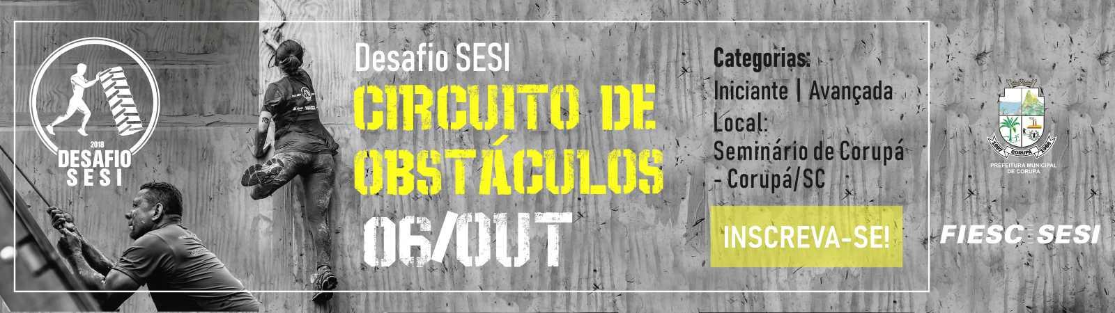 DESAFIO SESI 2018 - CIRCUITO DE OBSTÁCULOS