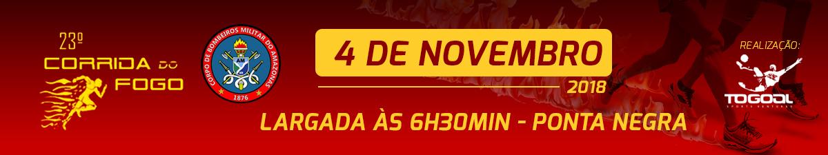 23ª CORRIDA DO FOGO - Imagem de topo