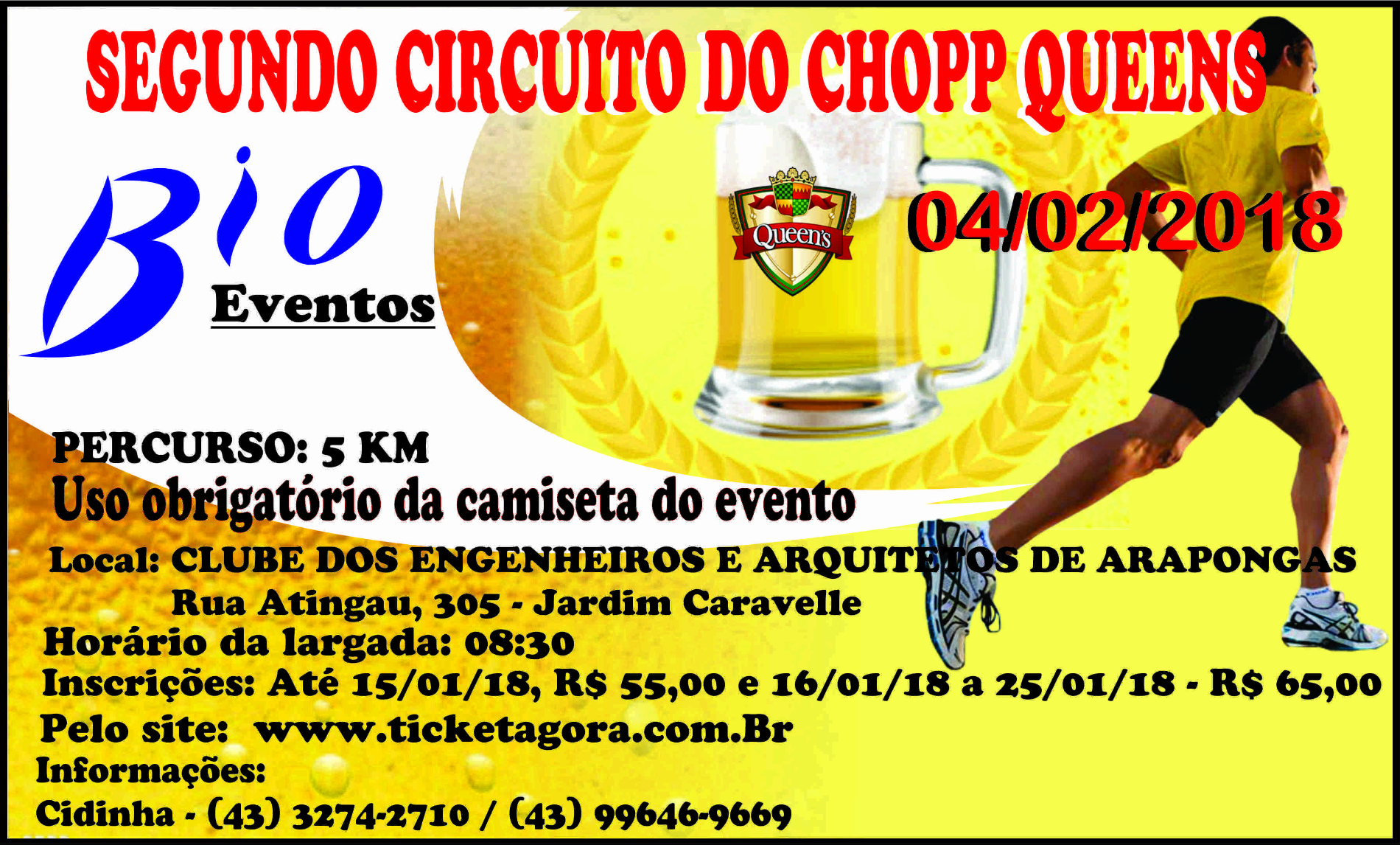 SEGUNDO CIRCUITO DO CHOPP QUEENS