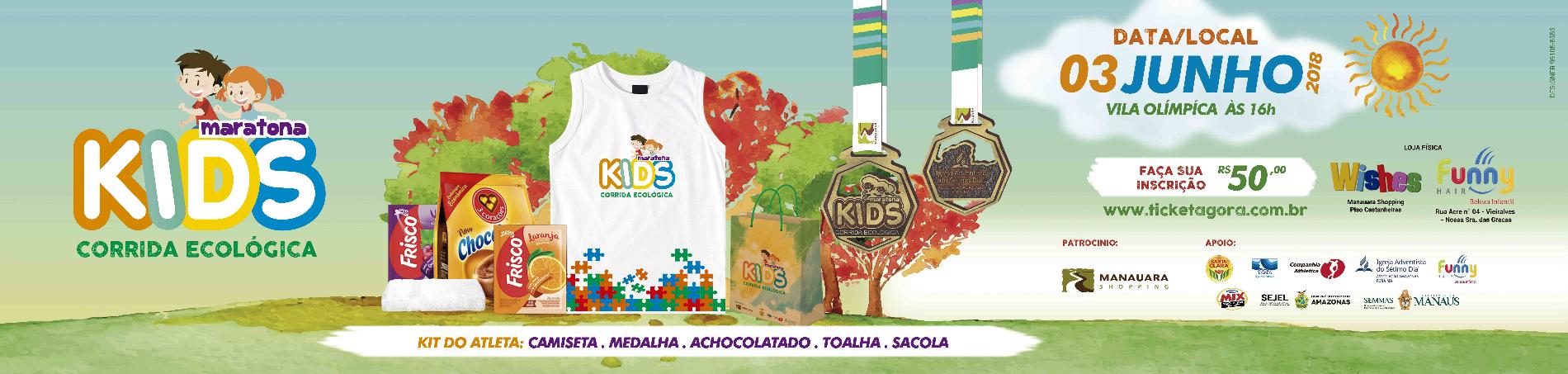 MARATONA KIDS - CORRIDA ECOLÓGICA - Imagem de topo
