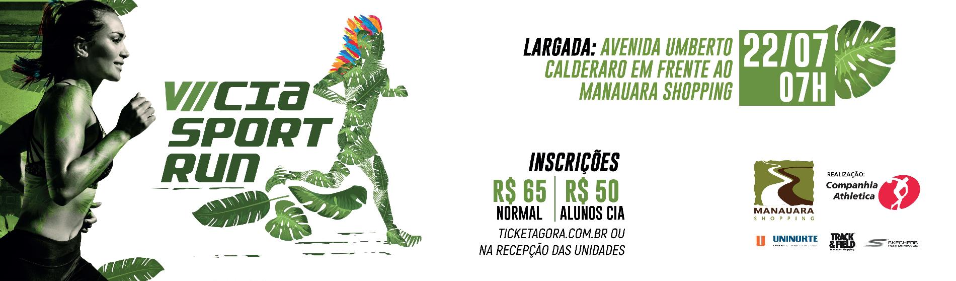 VII Cia Sports Run - Imagem de topo