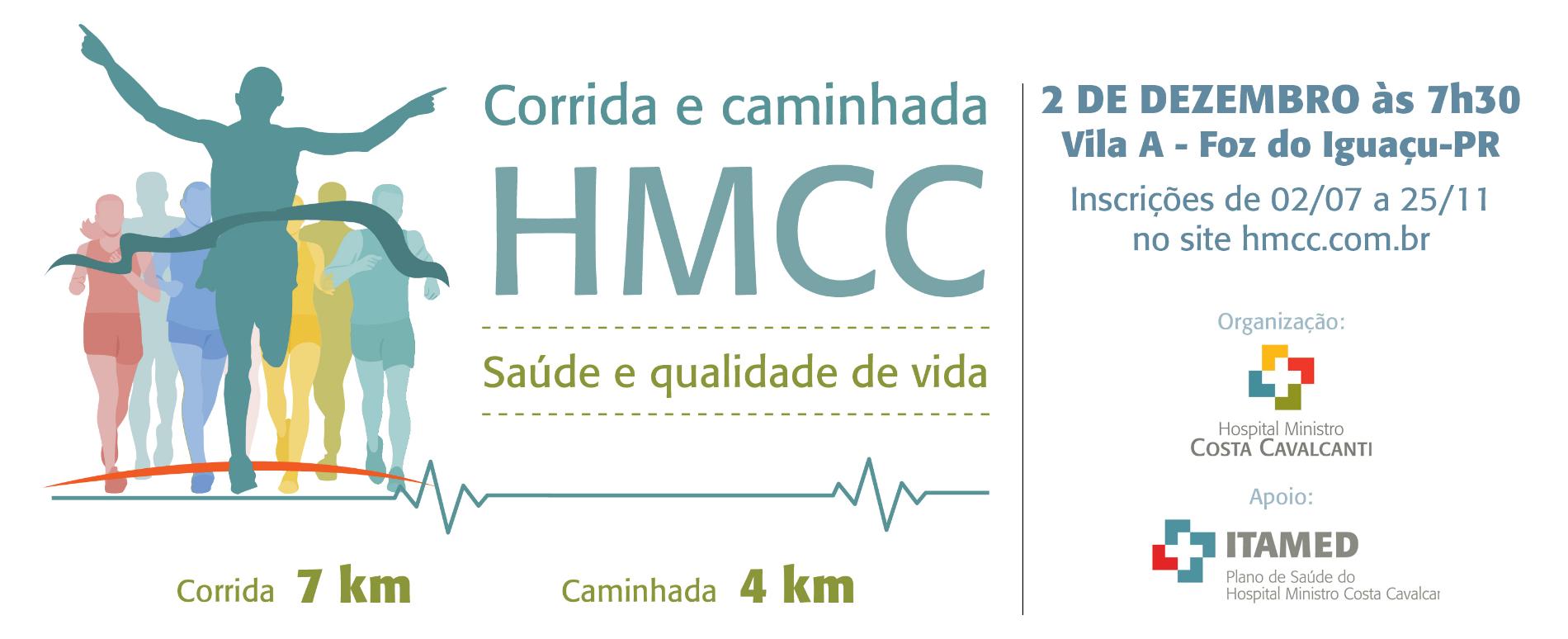 CORRIDA E CAMINHADA DO HMCC