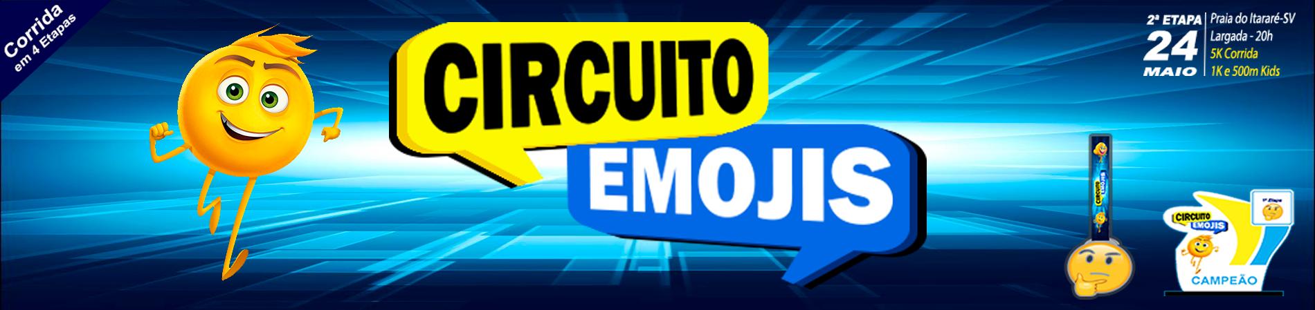 CIRCUITO EMOJIS - 2 ETAPA