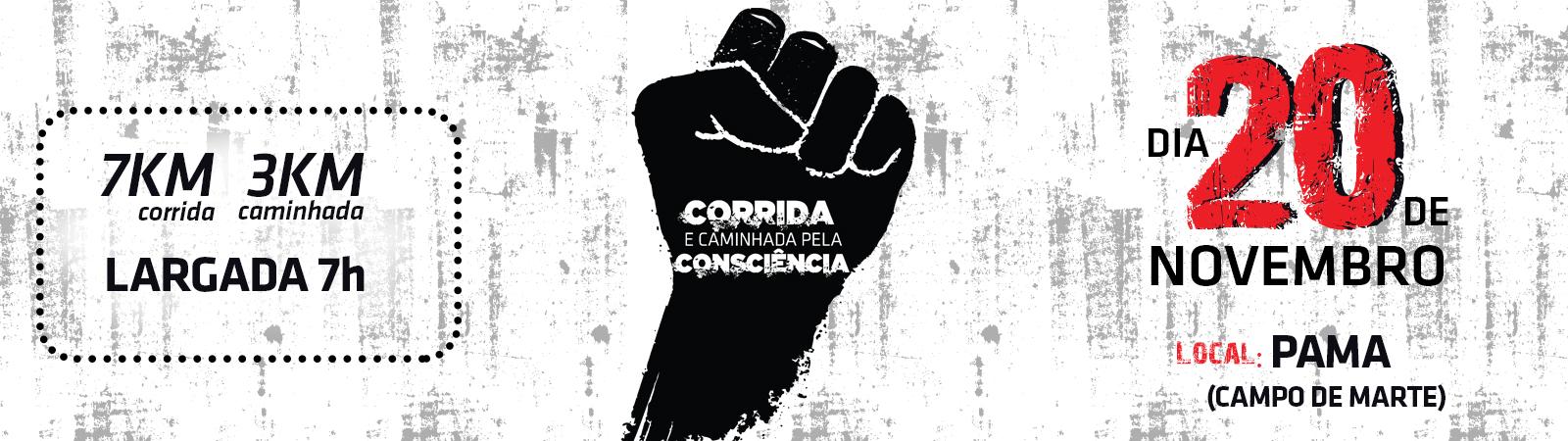 CORRIDA DA CONSCIÊNCIA - Imagem de topo