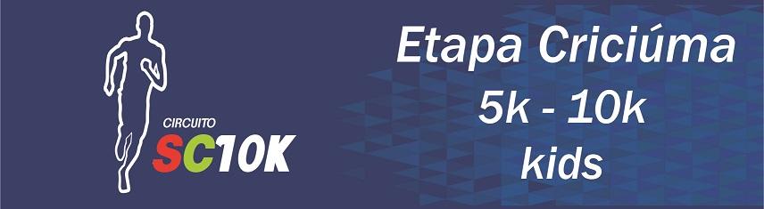 CIRCUITO SC10K - ETAPA CRICIÚMA10K