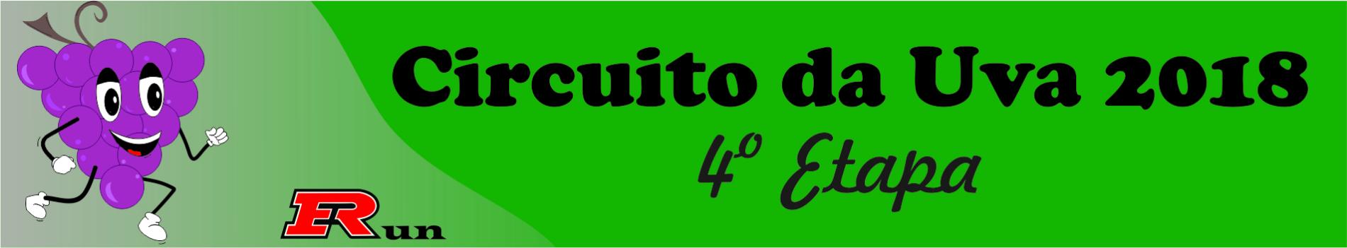 CIRCUITO DA UVA 2018 4ª ETAPA