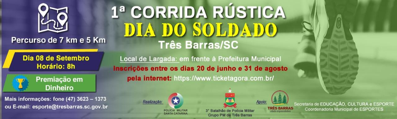 1ª CORRIDA RÚSTICA - DIA DO SOLDADO