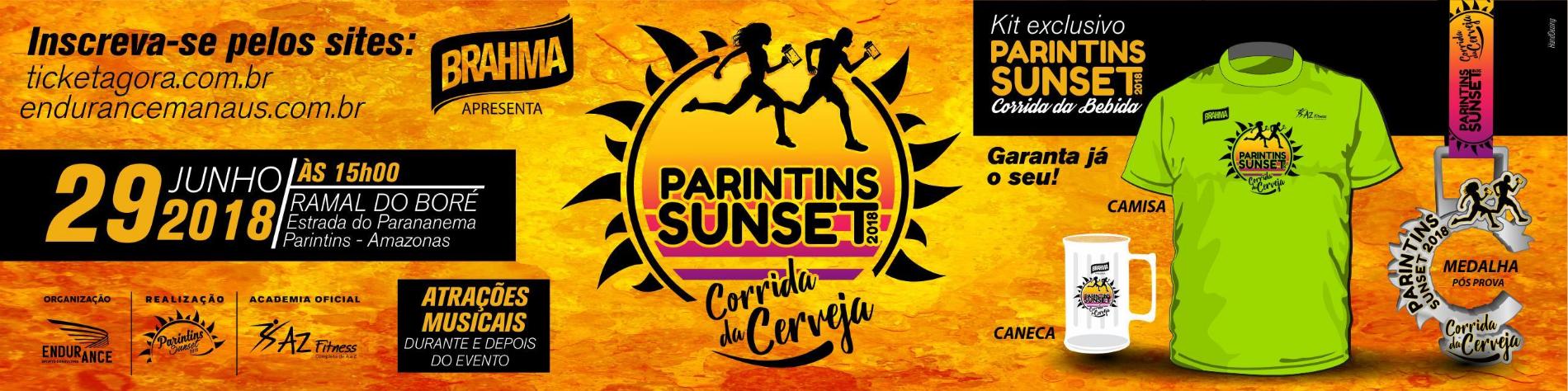 PARINTINS SUNSET - CORRIDA DA CERVEJA 2018 - Imagem de topo