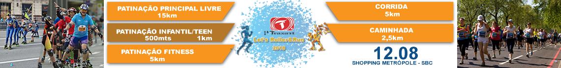 1ª TRAXART LET'S ROLLER  RUN 2018 - Imagem de topo