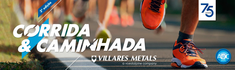3ª CORRIDA E CAMINHADA DO CLUBE ADC VILLARES METALS