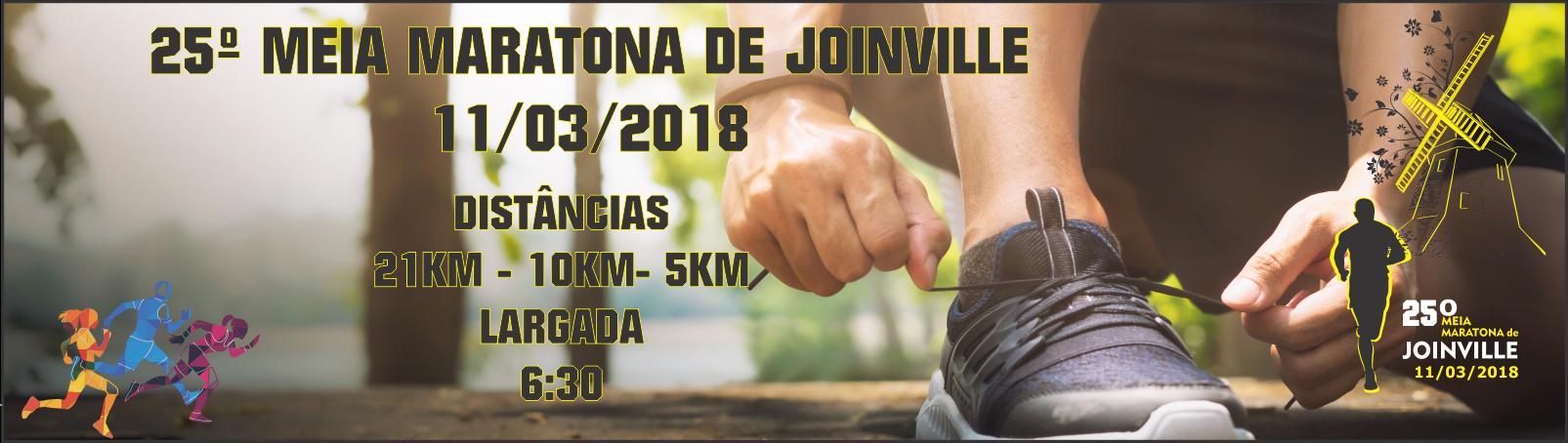 25ª MEIA MARATONA DE JOINVILLE - 2018 - Imagem de topo