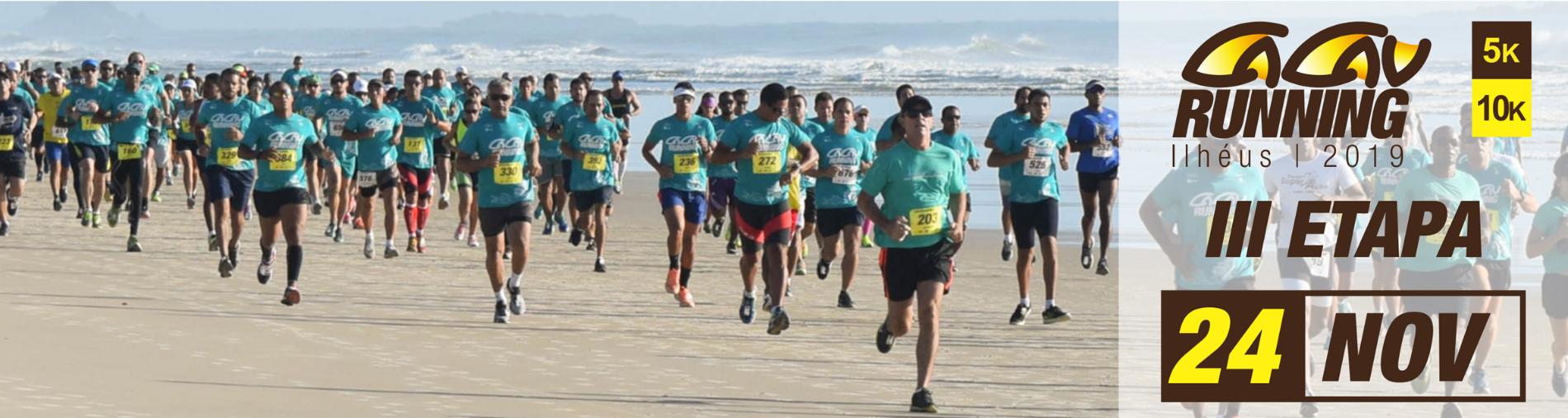 CIRCUITO CACAU RUNNING 2019 - 3ª ETAPA