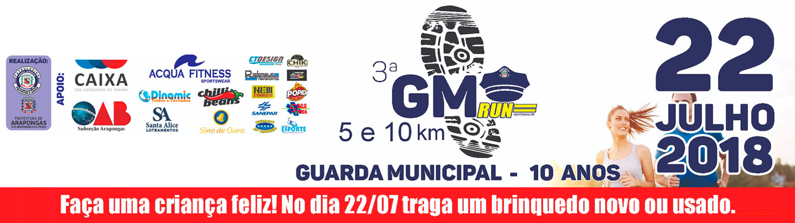 3° GM RUN ARAPONGAS