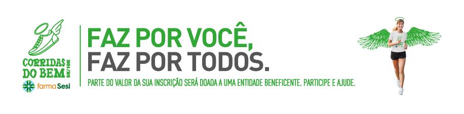 CORRIDA DO BEM FARMASESI 2018 - 3ª ETAPA - JOINVILLE - Imagem de topo