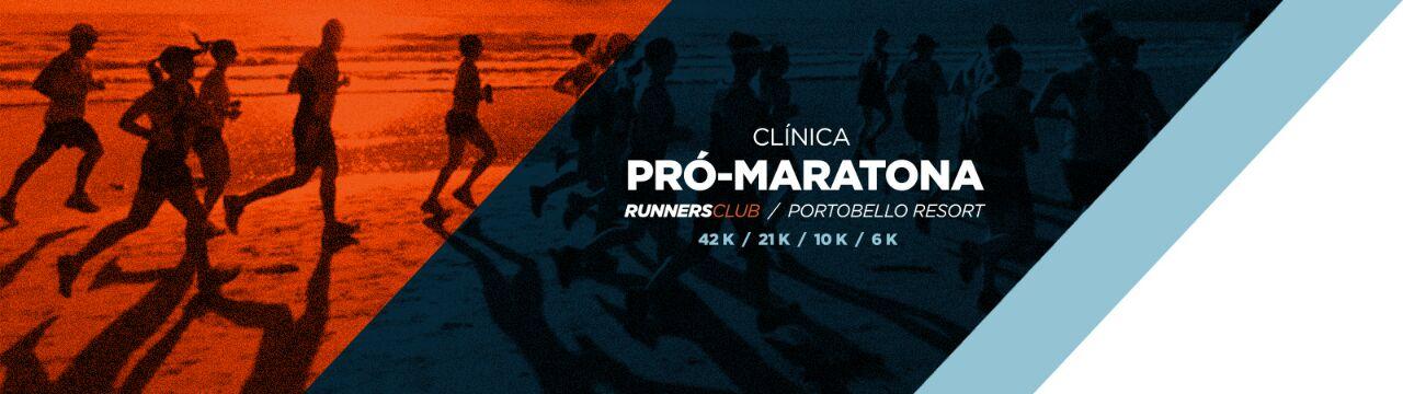 Clínica Pró-Maratona e Meia Maratona - Imagem de topo