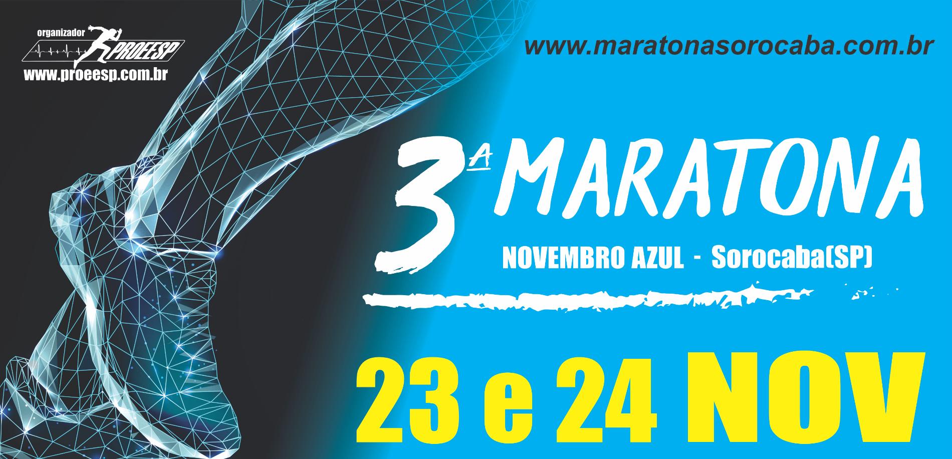 3ª MARATONA DE SOROCABA NOVEMBRO AZUL - 2019