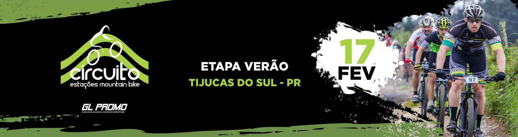 CIRCUITO ESTAÇÕES MOUNTAIN BIKE 2019 - ETAPA VERÃO