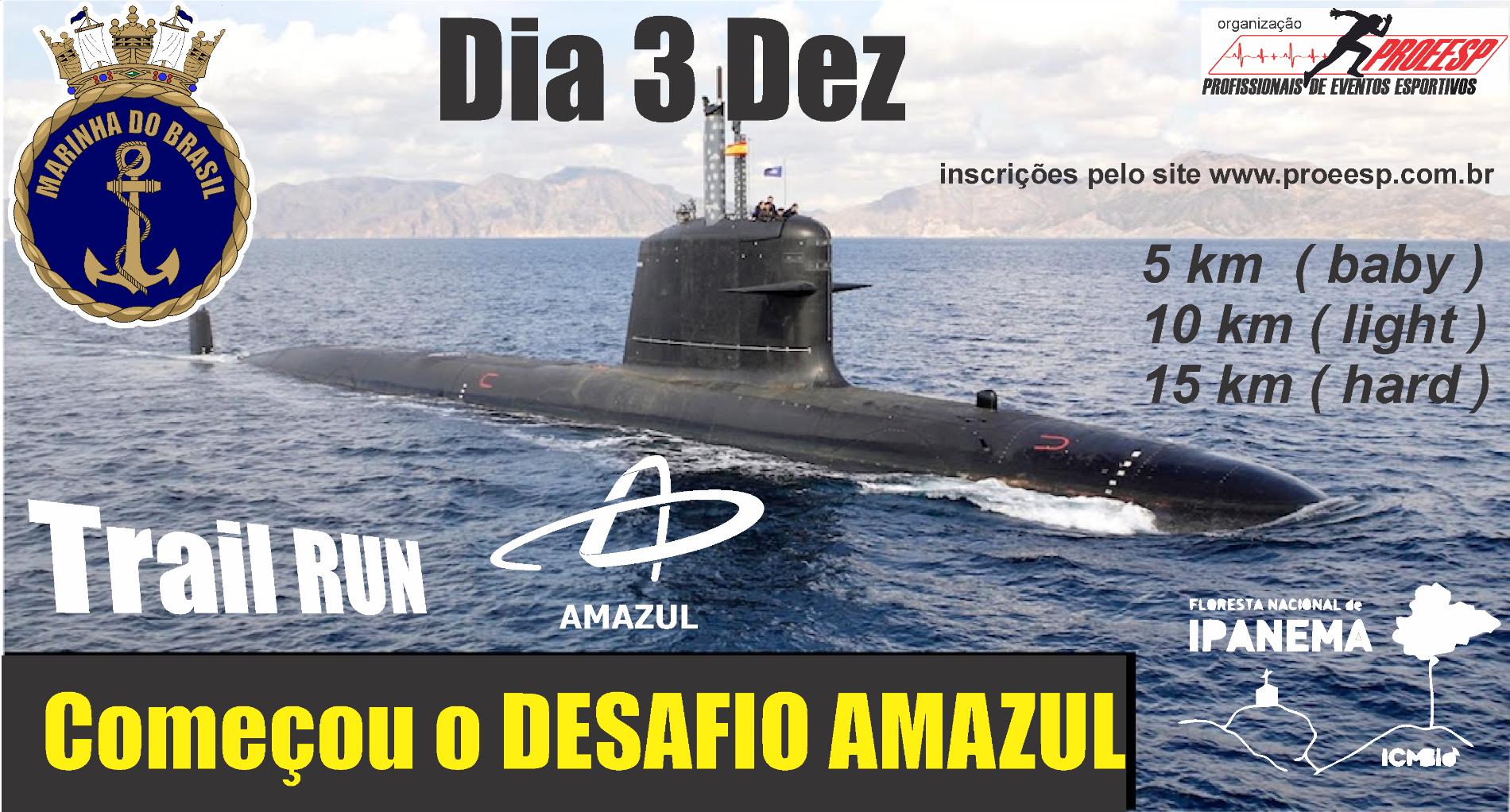 DESAFIO AMAZUL - Imagem de topo